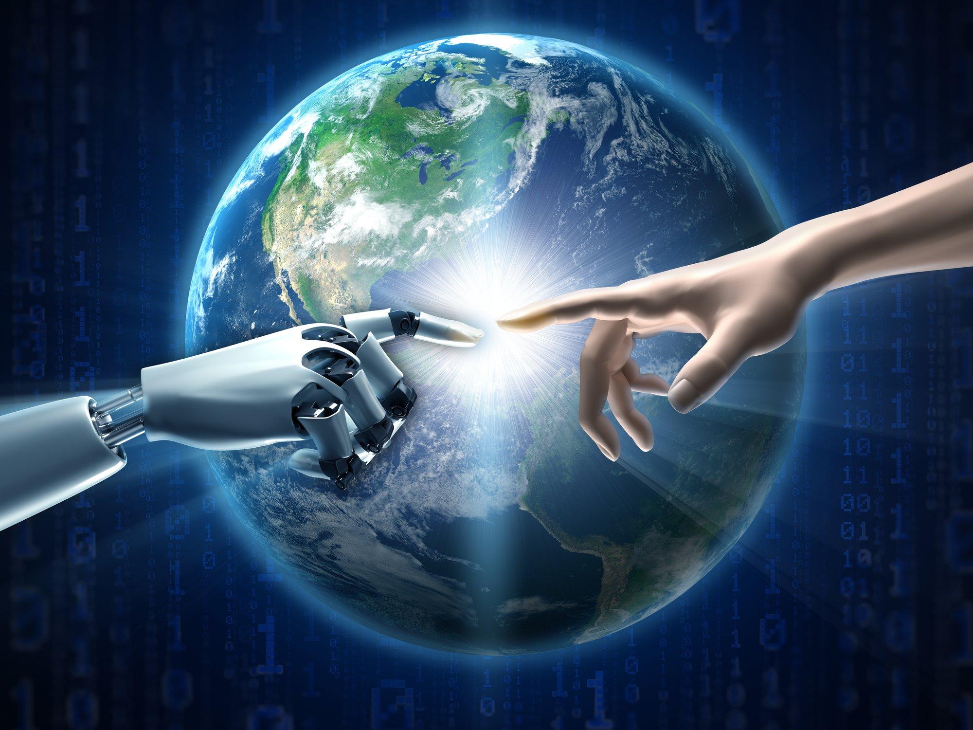 world-robot-human-hand-touch