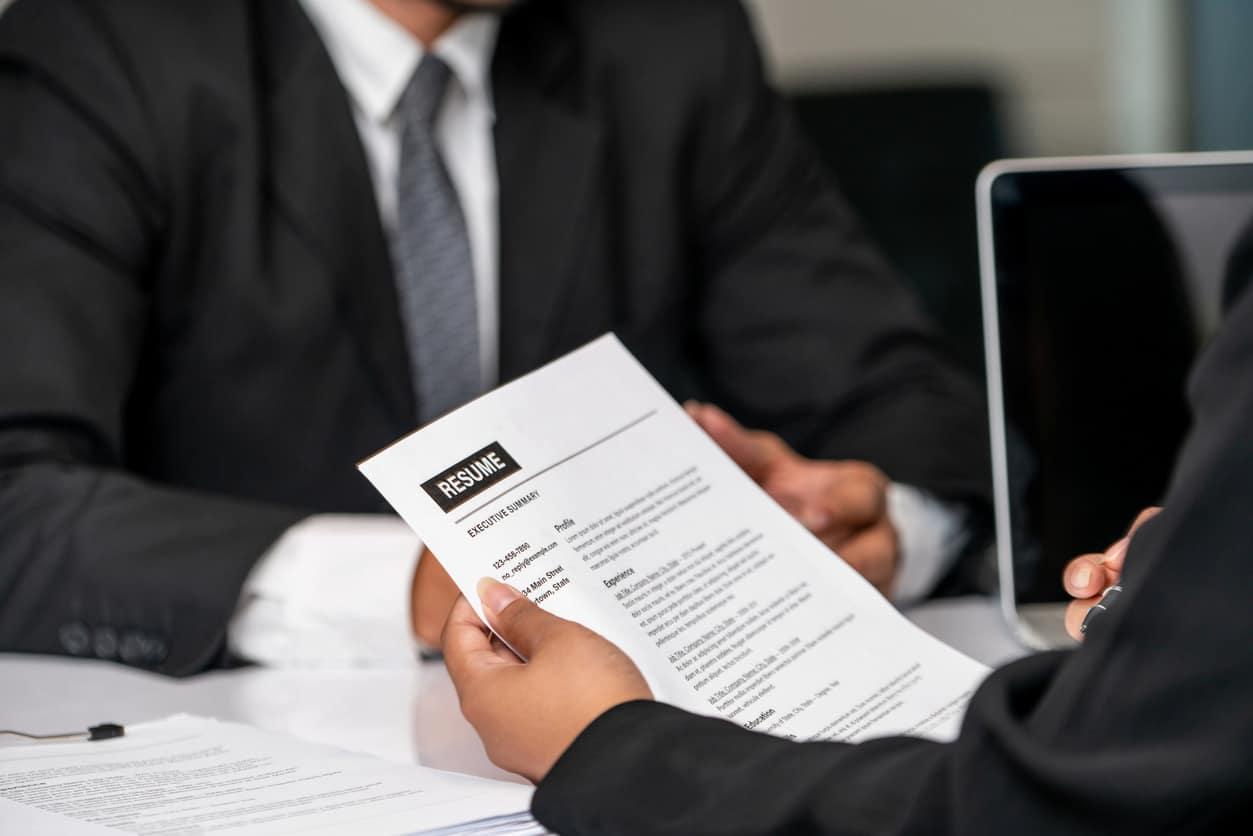 information management resume